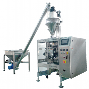 VFFS FLOUR POWDER  PACKING MACHINE ZL230 WITH AUGAR SCALE