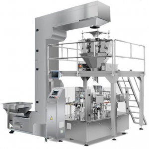 AUTOMATIC ROTARY STAND UP ZIPPER BAG GIVEN DOYPACK DOYBAG WALNUT PEANUT PISTACHIO CASHEW NUTS PACKAGING MACHINE