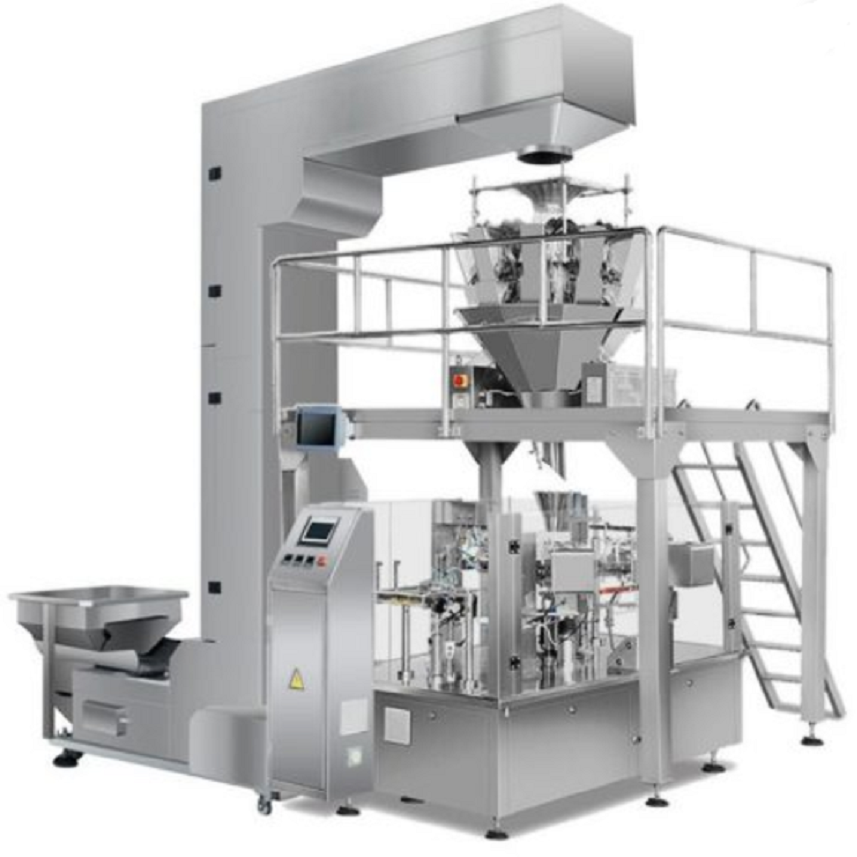 AUTOMATIC PRE-MADE BAG PACKING JUJUBES MACHINE WITH MULIT-HEAD SCALE Featured Image