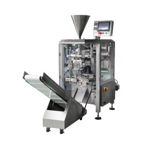 VFFS GRANULES PACKING MACHINE ZL230 WITH MULTI-HEAD WEIGHER