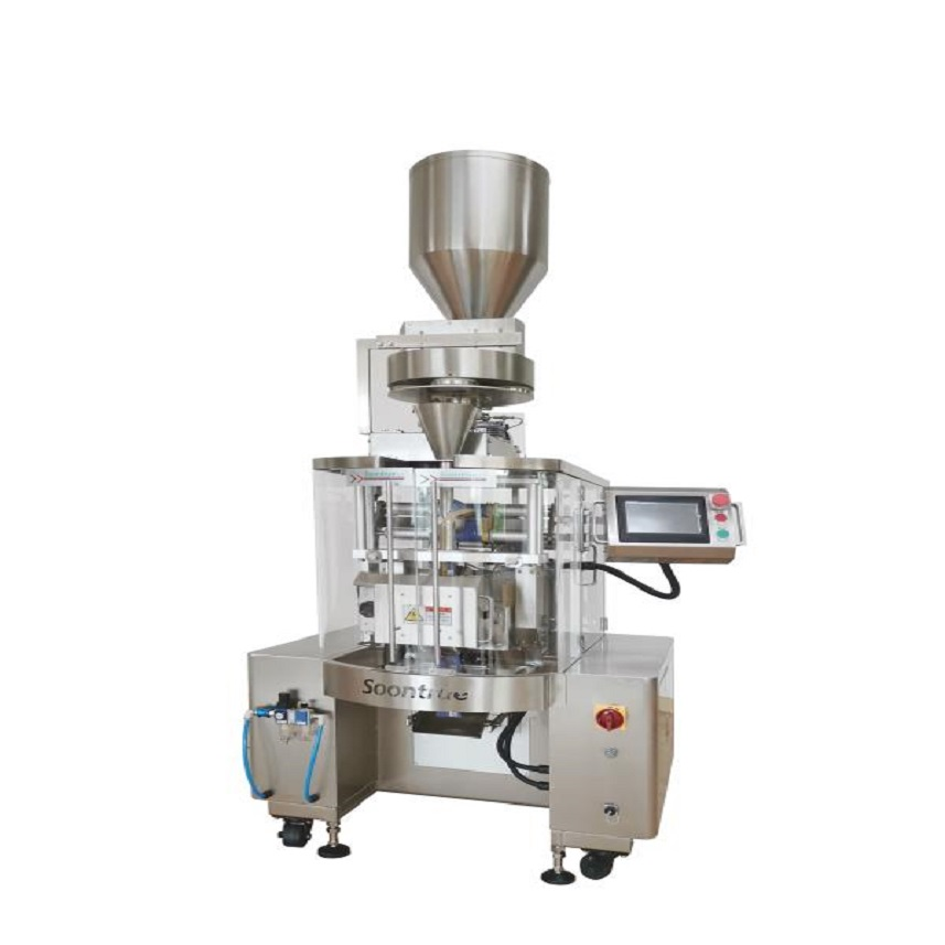 VFFS HIGH SPEED PACKING MACHINE ZL180A WITH VOLUMETRIC CUP DEVICE Featured Image