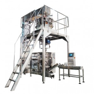 VFFS VERTICAL PACKING MACHINE FOR BISCUITS AND SMALL BREAD